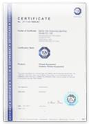 Producent siłowni zewnętrznych - certyfikat
