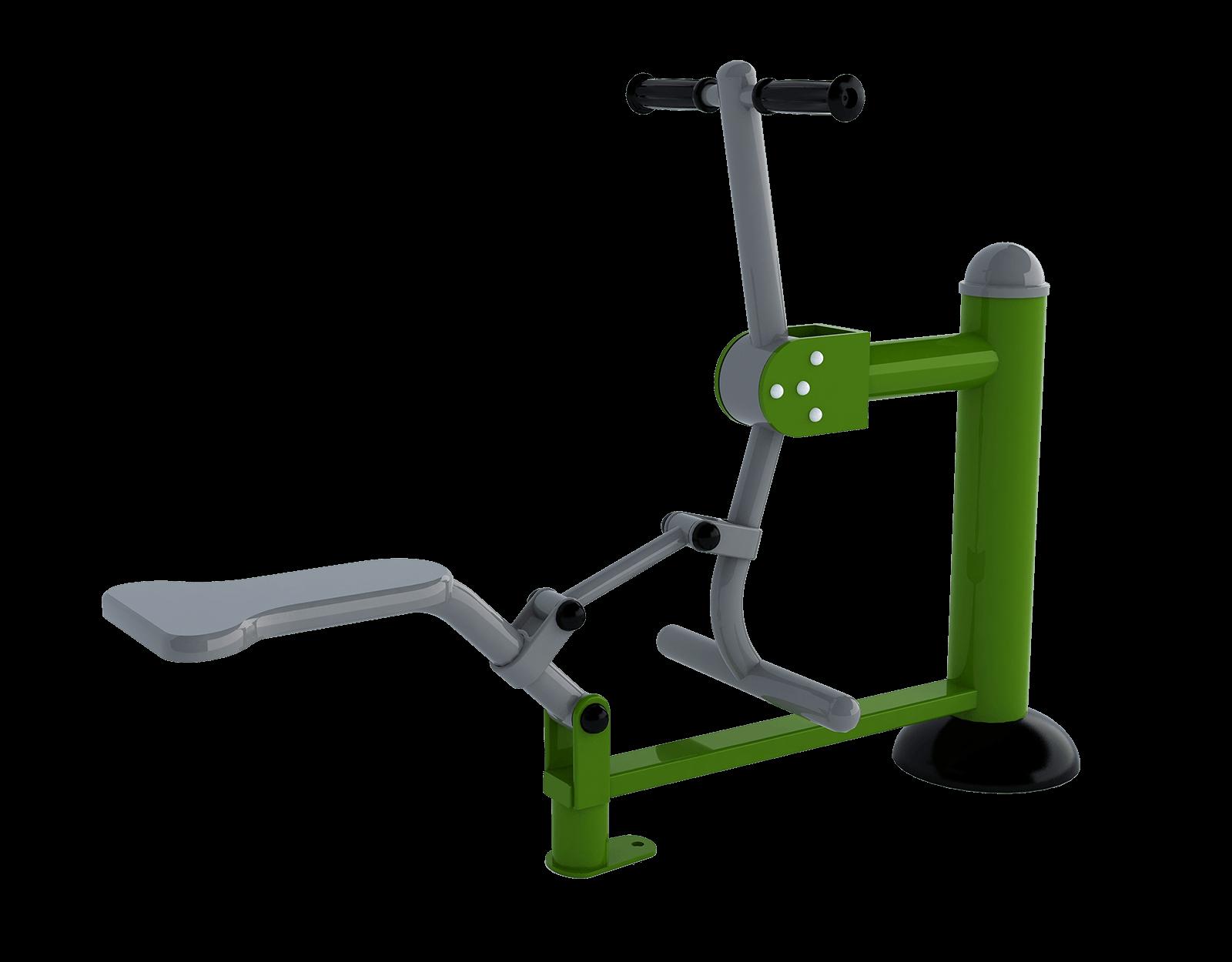 Plac street workout - jeździec