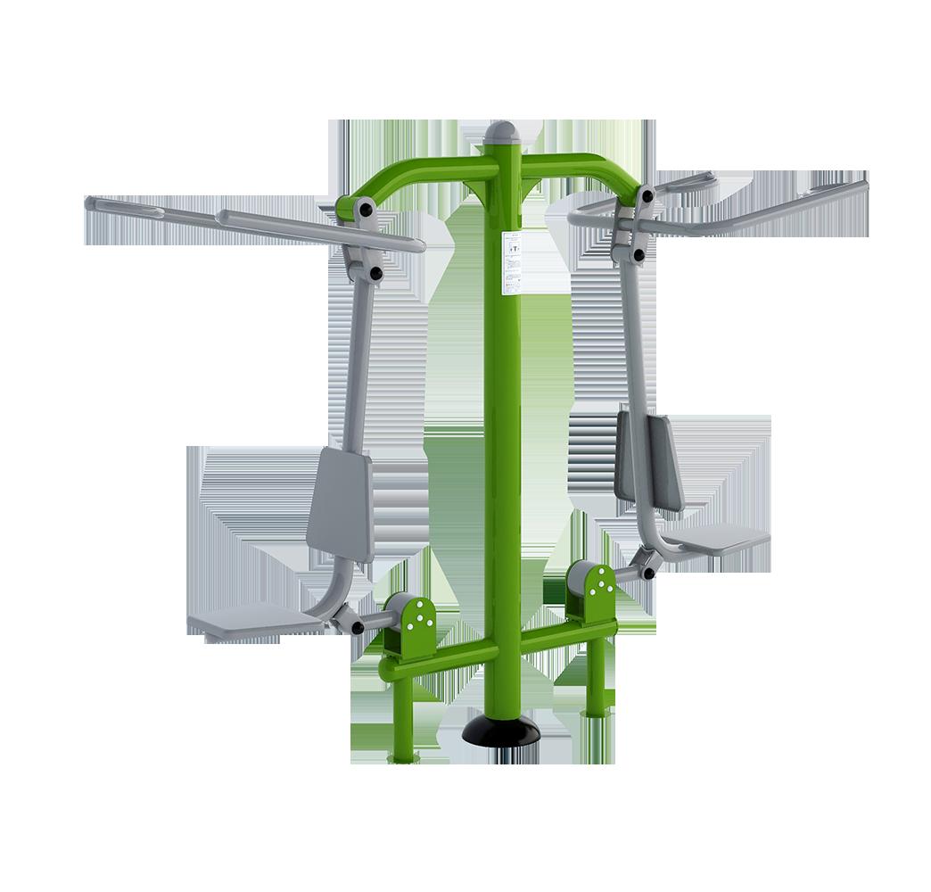 Plac street workout - wyciąg górny
